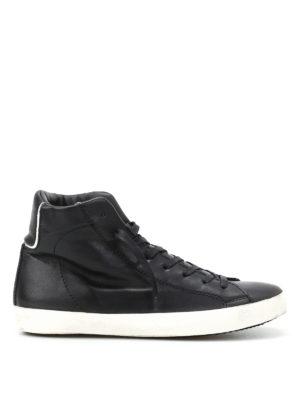 Philippe Model: trainers - Paris black high top sneakers