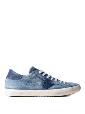 Philippe Model: trainers - Paris denim sneakers