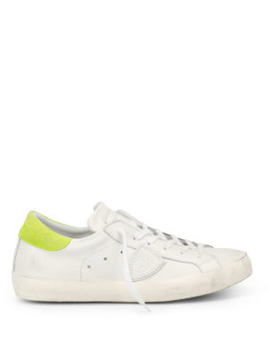 Philippe Model: trainers - Paris green detailed sneakers
