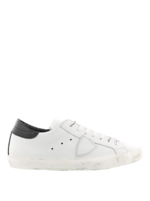 Philippe Model: trainers - Paris leather sneakers with logo