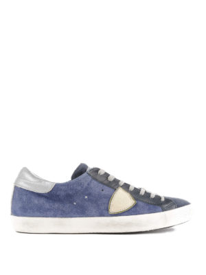 PHILIPPE MODEL: sneakers - Sneaker basse Paris blu e nere
