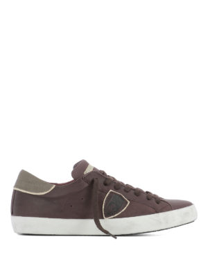 Philippe Model: trainers - Paris low top calfskin sneakers