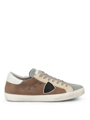 Philippe Model: trainers - Paris Mixage leather sneakers