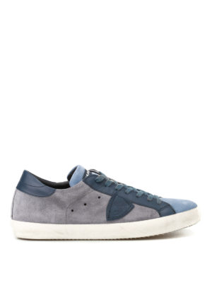 Philippe Model: trainers - Paris Mixage suede sneakers