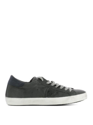 Philippe Model: trainers - Paris soft calfskin sneakers