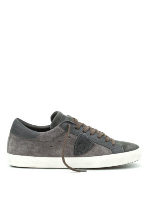 Philippe Model: trainers - Paris suede sneakers