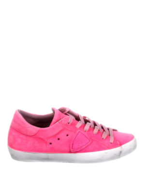 Philippe Model: trainers - Paris washed suede sneakers