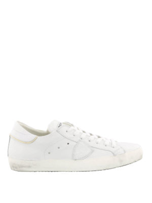 Philippe Model: trainers - Paris white sneakers