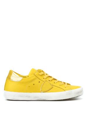 PHILIPPE MODEL: sneakers - Sneaker Paris gialle