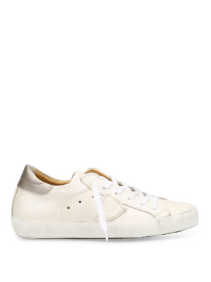 Philippe Model: trainers - Pearly leather Classic shoes