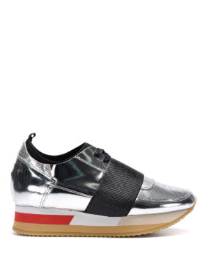 Philippe Model: trainers - Pretty leather slip-ons sneakers