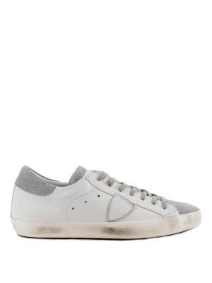 PHILIPPE MODEL: sneakers - Sneaker Paris con pannello in suede