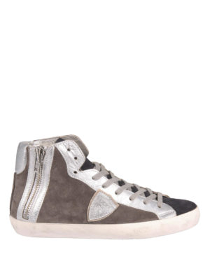 Philippe Model: trainers - Suede high-top sneakers