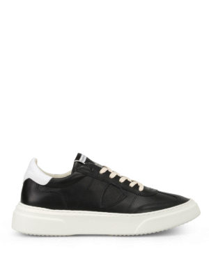 Philippe Model: trainers - Temple leather sneakers