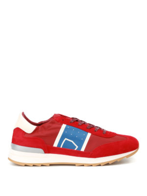 Philippe Model: trainers - Toujour Basic red sneakers