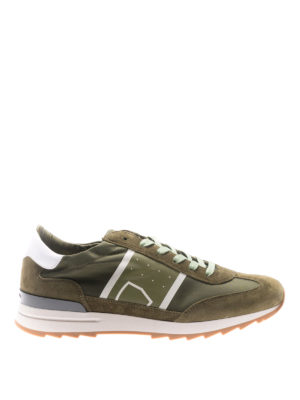 Philippe Model: trainers - Toujours green basic sneakers