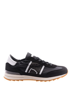 Philippe Model: trainers - Toujours low top black sneakers