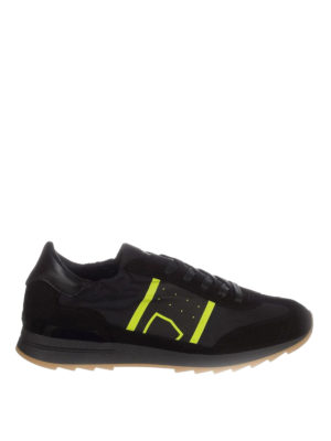 Philippe Model: trainers - Toujours nylon and suede sneakers