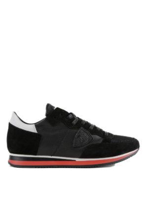 PHILIPPE MODEL: sneakers - Sneaker Tropez nere e bianche