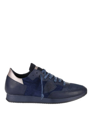 Philippe Model: trainers - Tropez blue sneakers