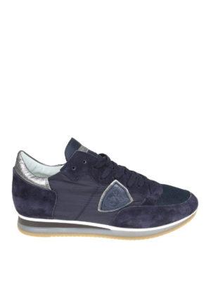PHILIPPE MODEL  sneakers - Sneaker Tropez blu 4ebdf2b097f