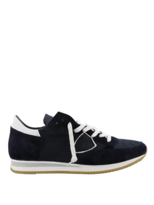 PHILIPPE MODEL: sneakers - Sneaker Tropez blu scuro
