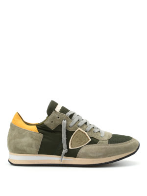 Philippe Model: trainers - Tropez dark green sneakers