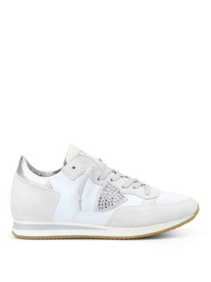 PHILIPPE MODEL: sneakers - Sneaker Tropez con strass