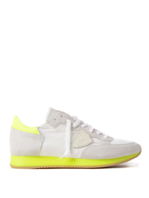 Philippe Model: trainers - Tropez fluo detail classic sneakers