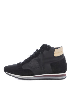Philippe Model: trainers - Tropez High World black sneakers