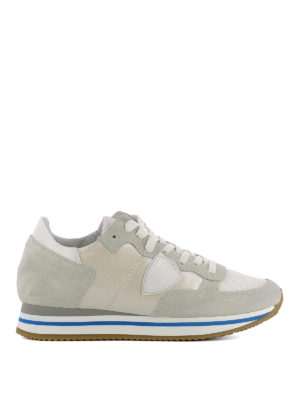 Philippe Model: trainers - Tropez Higher beige sneakers