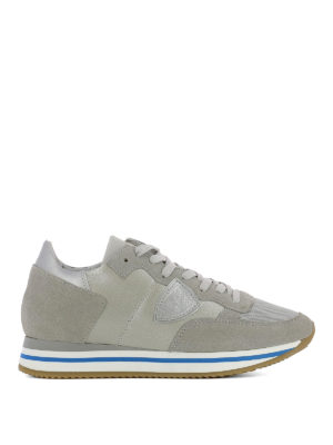 Philippe Model: trainers - Tropez Higher grey sneakers