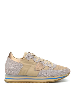 PHILIPPE MODEL: sneakers - Sneaker Tropez Higher luccicanti