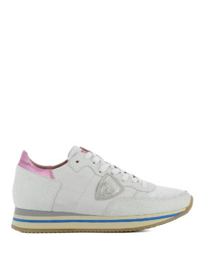 Philippe Model: trainers - Tropez Higher white sneakers