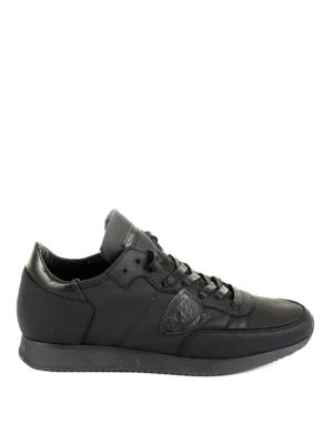 Philippe Model: trainers - Tropez leather low top sneakers