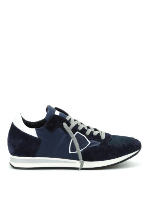 Philippe Model: trainers - Tropez leather sneakers