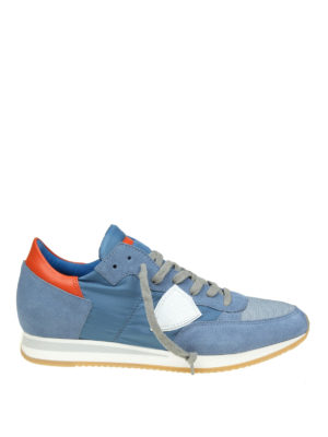 Philippe Model: trainers - Tropez light blue sneakers