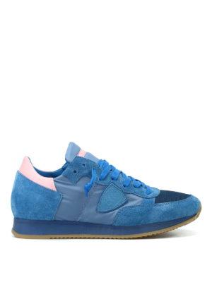 PHILIPPE MODEL: sneakers - Sneaker Tropez celesti
