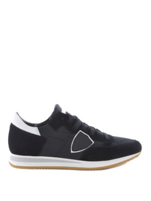 Philippe Model: trainers - Tropez low top suede sneakers
