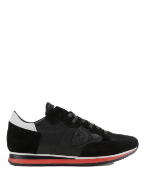 PHILIPPE MODEL: sneakers - Sneaker Tropez Mondial nere in pelle