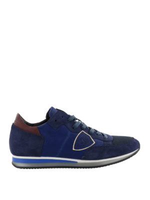 Philippe Model: trainers - Tropez Mondial blue sneakers