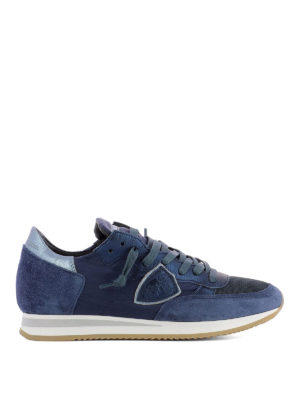 Philippe Model: trainers - Tropez Mondial bluette sneakers