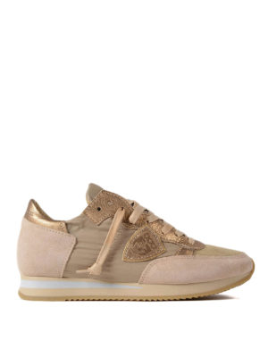 Philippe Model: trainers - Tropez Mondial Boue Or sneakers