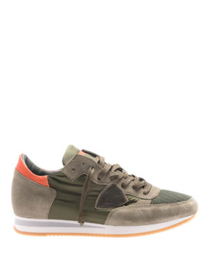 Philippe Model: trainers - Tropez Mondial dark green sneakers