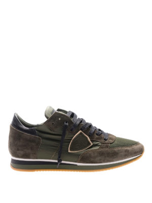 Philippe Model: trainers - Tropez Mondial green sneakers