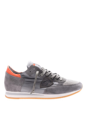Philippe Model: trainers - Tropez Mondial grey sneakers