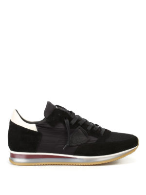 Philippe Model: trainers - Tropez Mondial noir blanc sneakers