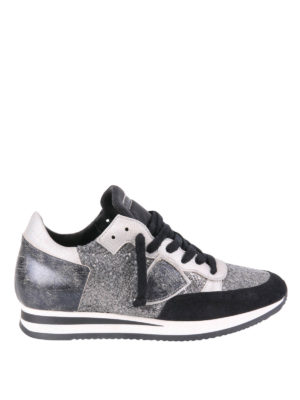 Philippe Model: trainers - Tropez multifabric sneakers