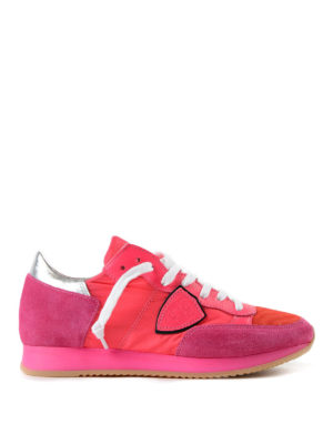 PHILIPPE MODEL: sneakers - Sneaker Tropez neon