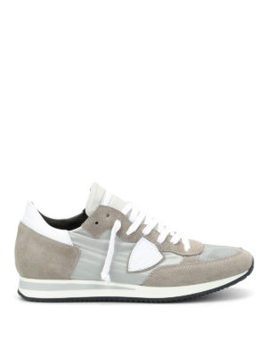 Philippe Model: trainers - Tropez nylon and suede sneakers